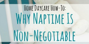 Why Naptime Is Non-Negotiable